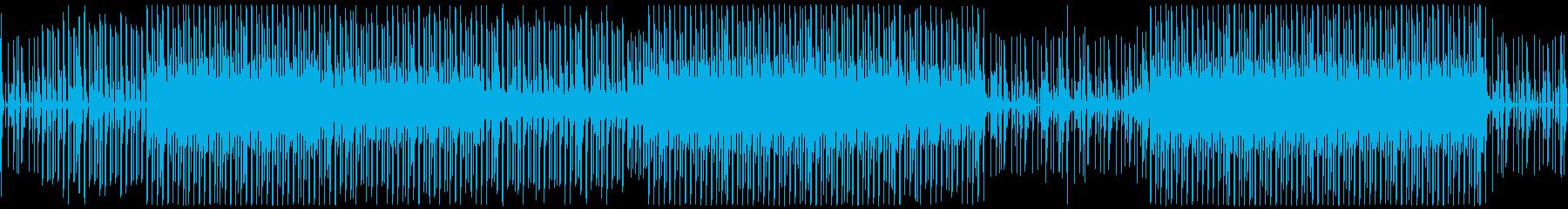ループ対応の4つ打ミニマルテクノナンバーの再生済みの波形