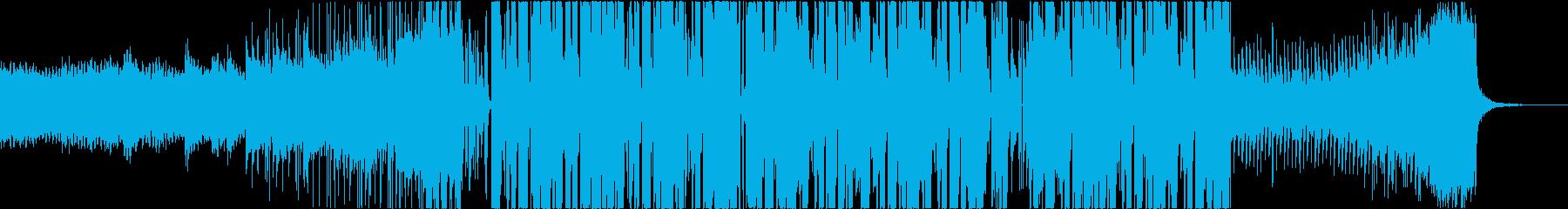 幻想的でキュートなフューチャーベースの再生済みの波形