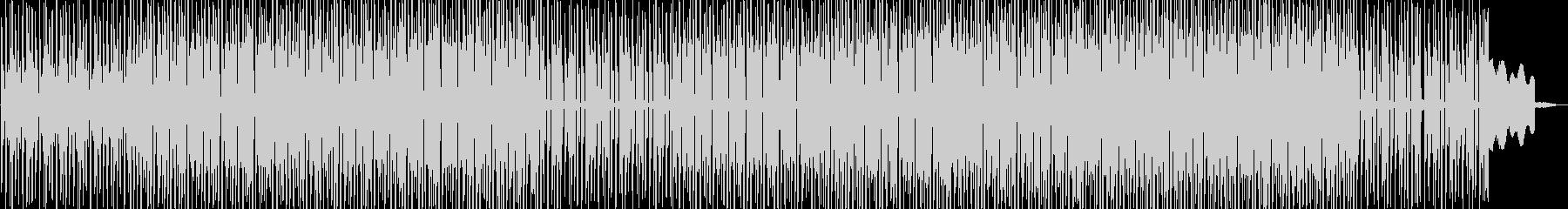 コミカルなエレクトロポップスの未再生の波形