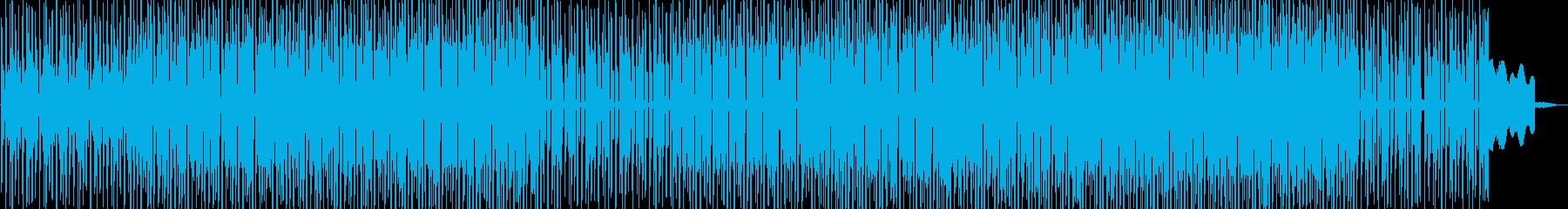 コミカルなエレクトロポップスの再生済みの波形