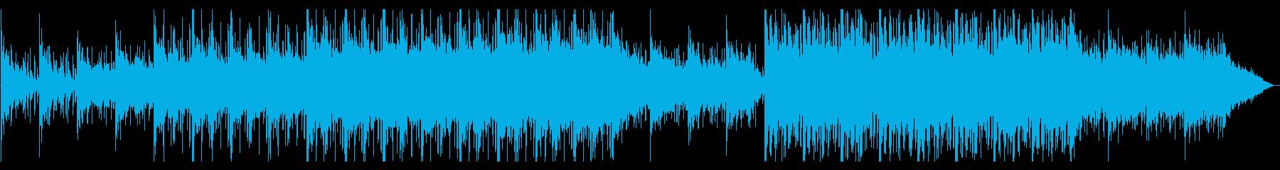 どこか和風で幻想的なヒップホップの再生済みの波形