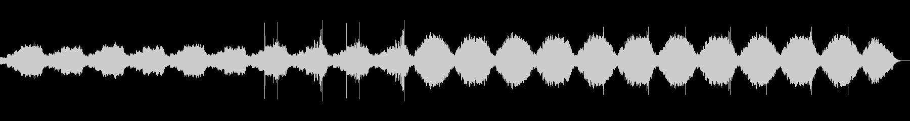 赤ちゃんの不安感を解消するヒーリング音楽の未再生の波形
