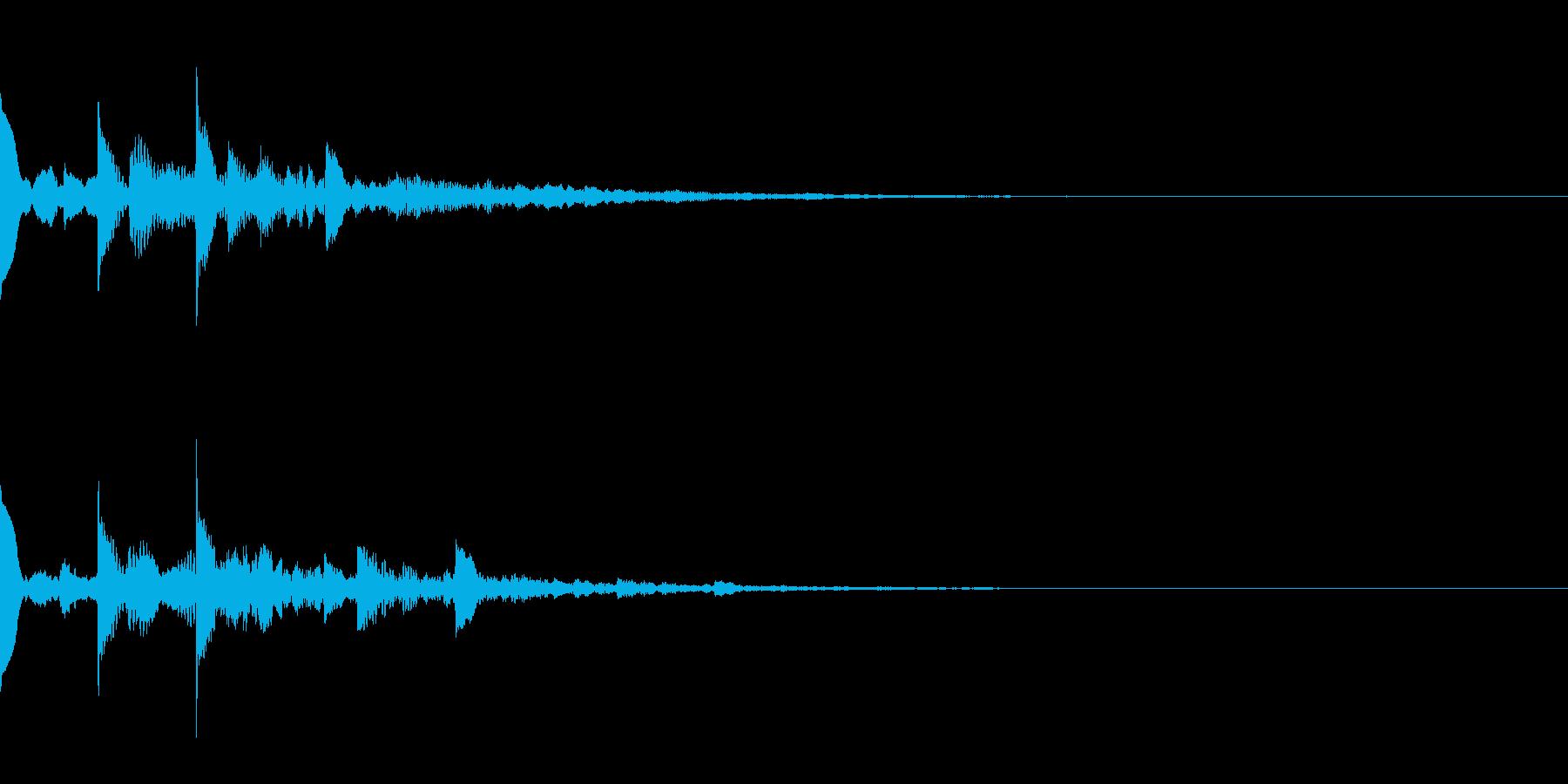 ニュース・お知らせ7の再生済みの波形