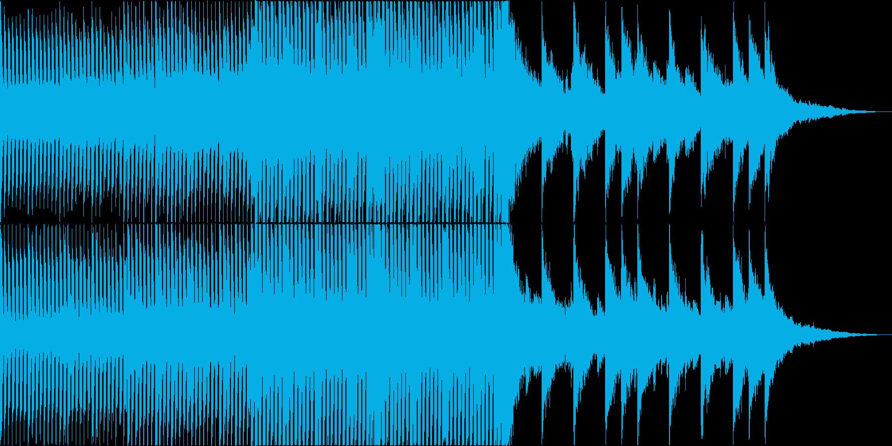 ハッピー・かわいい系㏚映像向けポップスの再生済みの波形