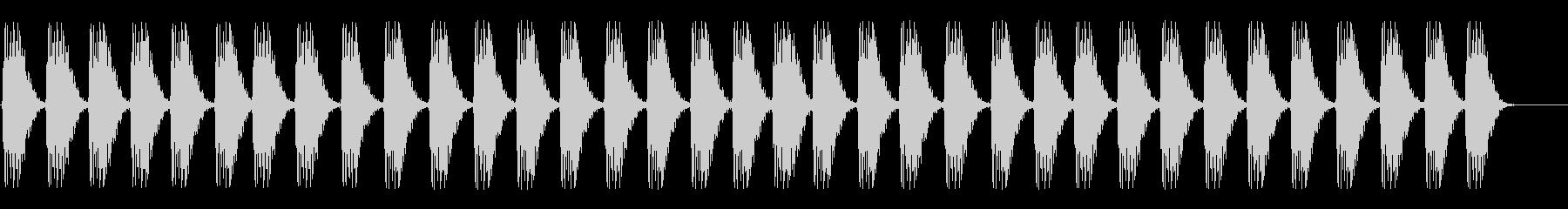 サブウーファー;複数のダークハート...の未再生の波形