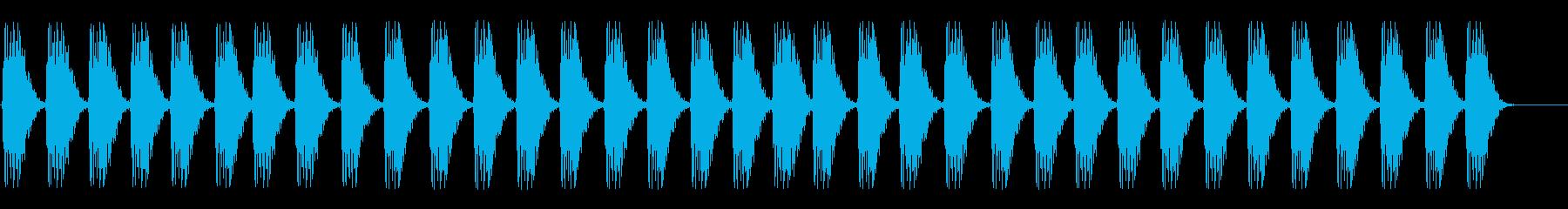 サブウーファー;複数のダークハート...の再生済みの波形