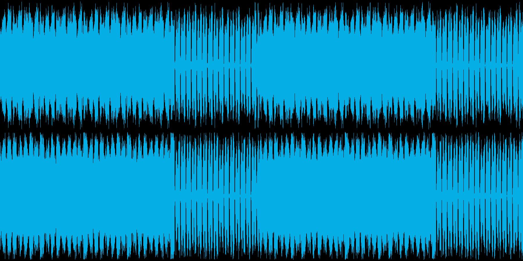【チルアウト/浮遊感/エレクトロニカ】の再生済みの波形