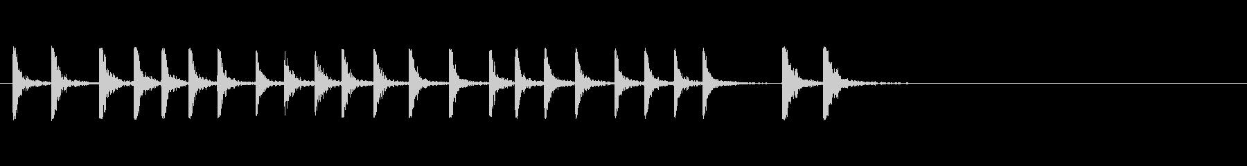 力のある板金のハンマーの未再生の波形