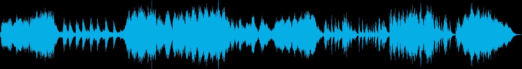ショパン ノクターン 幻想的アレンジの再生済みの波形