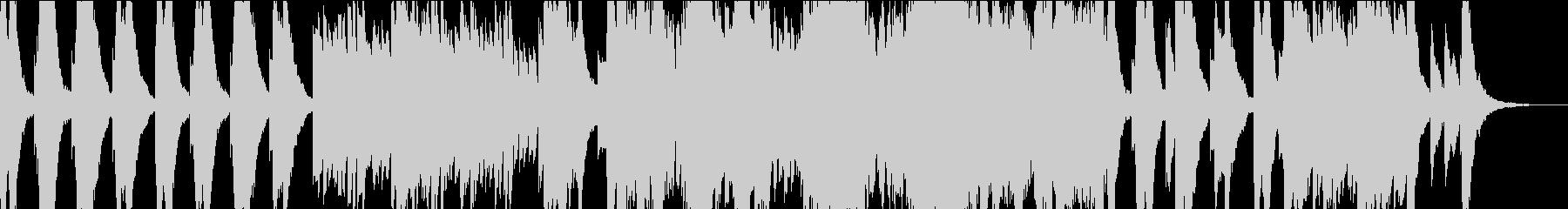 切ないオルゴール曲の未再生の波形