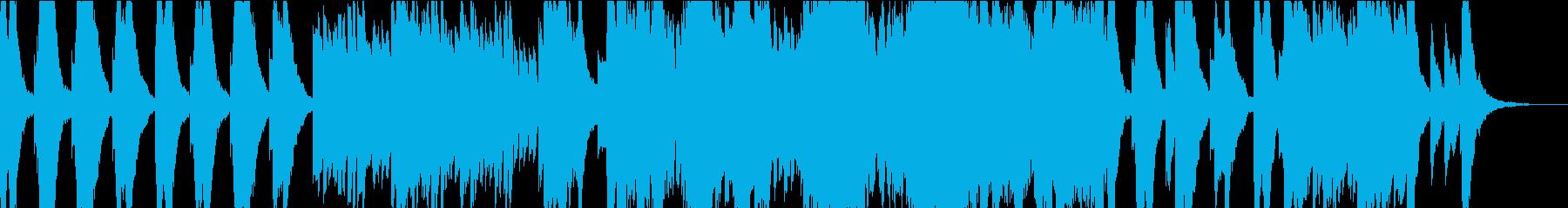 切ないオルゴール曲の再生済みの波形