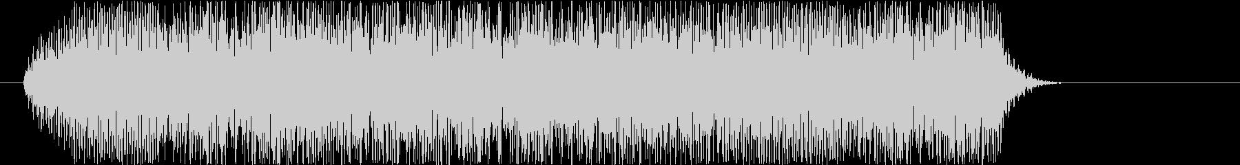 ビギュゥ~ン(電撃魔法音)の未再生の波形