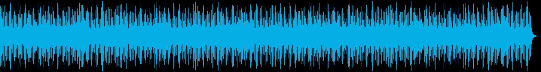 可愛らしくてリラックスできるオルゴールの再生済みの波形