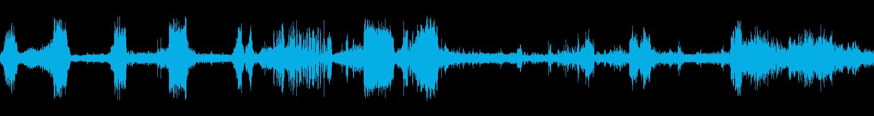車ポンティアック砂利剥離cの再生済みの波形
