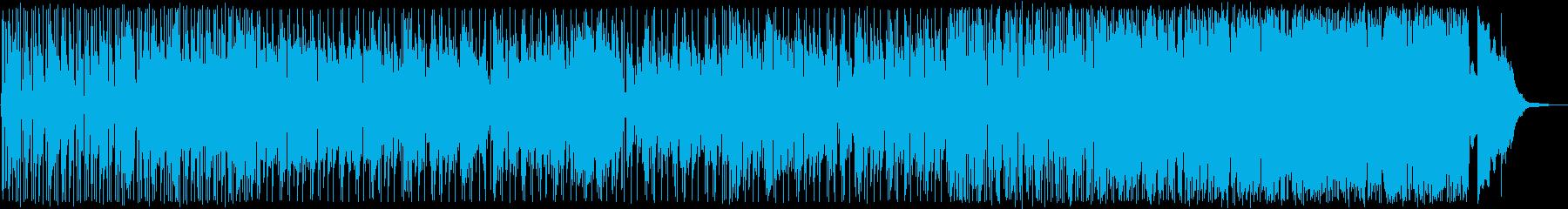 気怠いバラードからハードボイルドな展開!の再生済みの波形