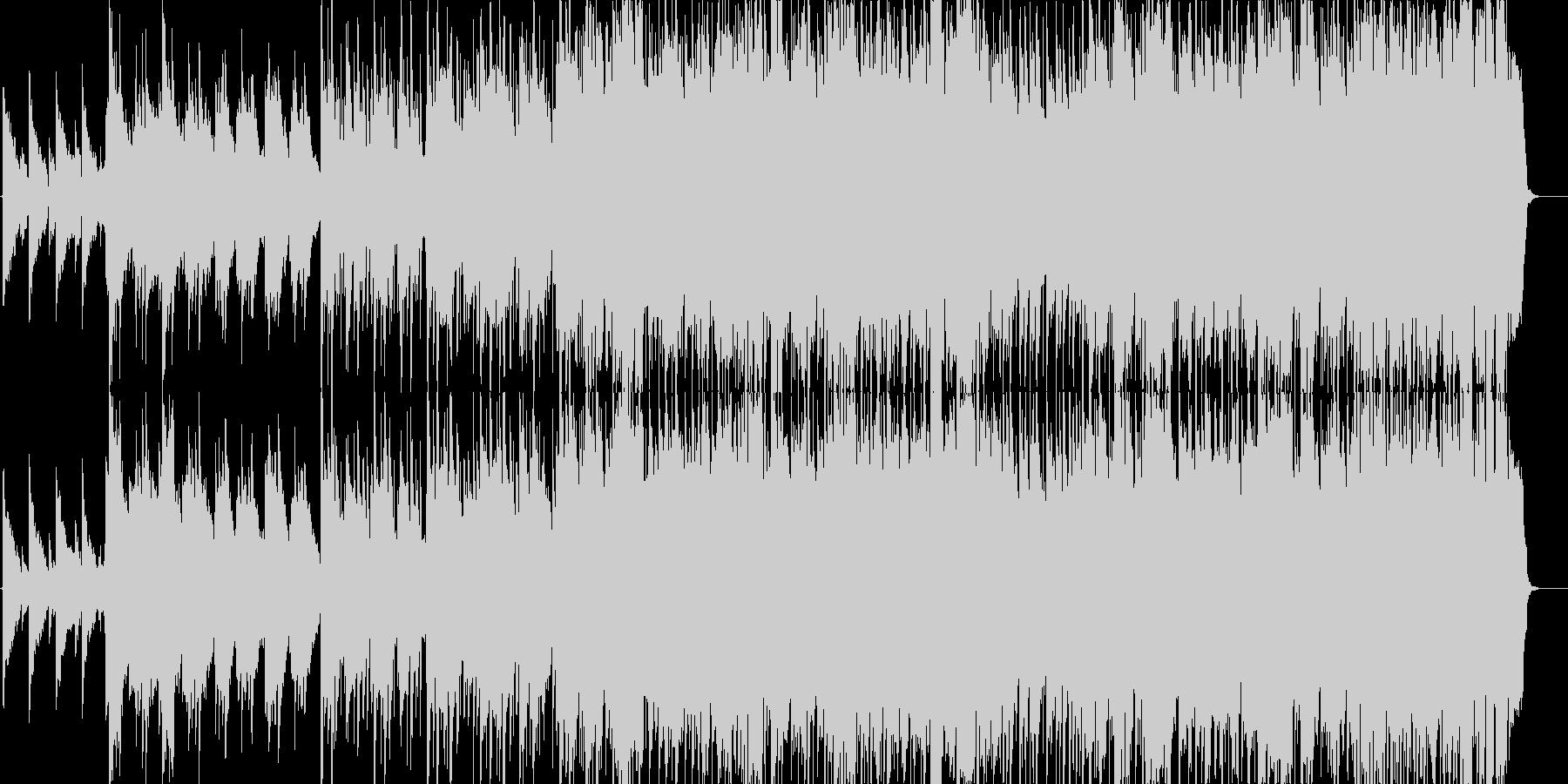 男性ボーカル/切ないバラードの未再生の波形