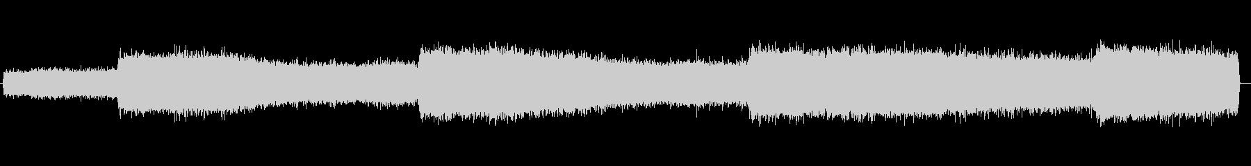 セミの鳴き声 02の未再生の波形