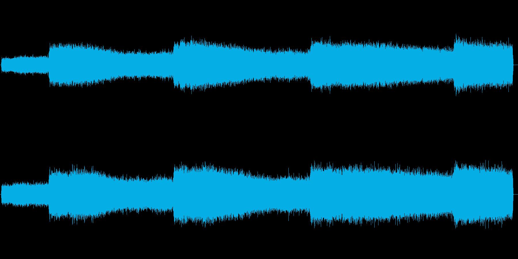セミの鳴き声 02の再生済みの波形