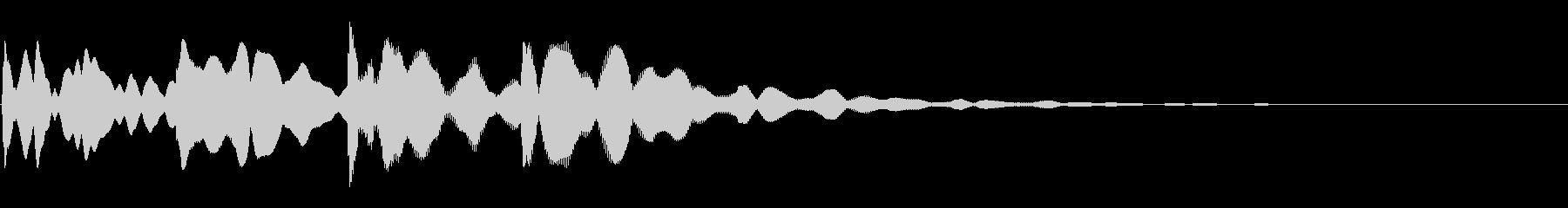 ピンポンパンポン03-4(バイノーラル)の未再生の波形