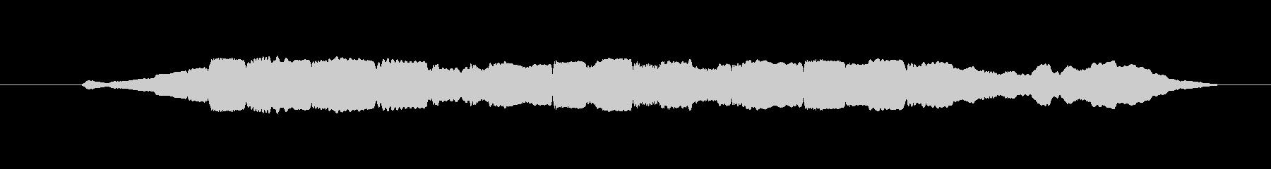 素材 オカリナランダムネスショート02の未再生の波形