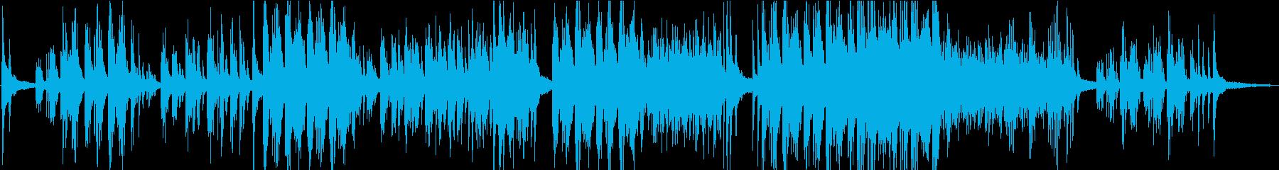 印象的な旋律、穏やかに響く生ソロピアノの再生済みの波形
