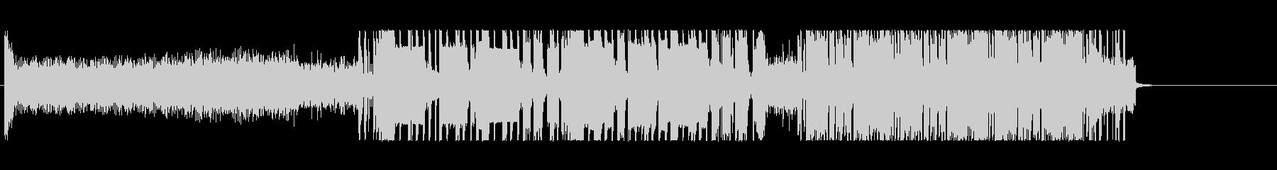 暗くて重たいドラムンベースの未再生の波形