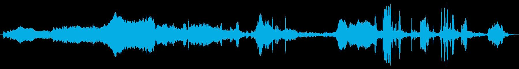 黒い黒板:ロングピアスフォークスクラッチの再生済みの波形