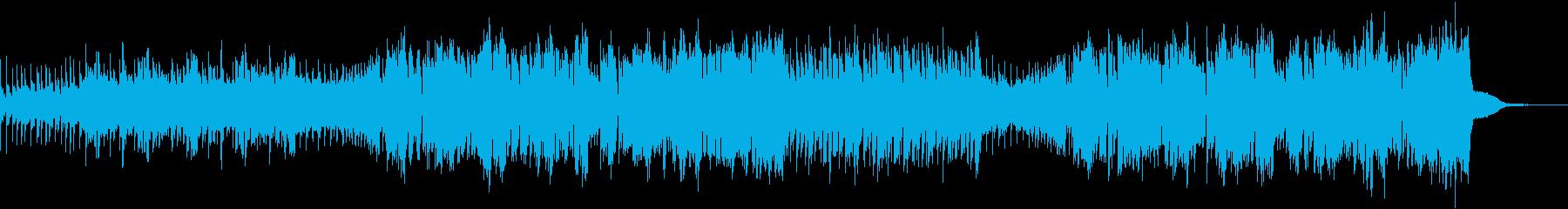 透明感溢れるフューチャーベースの再生済みの波形