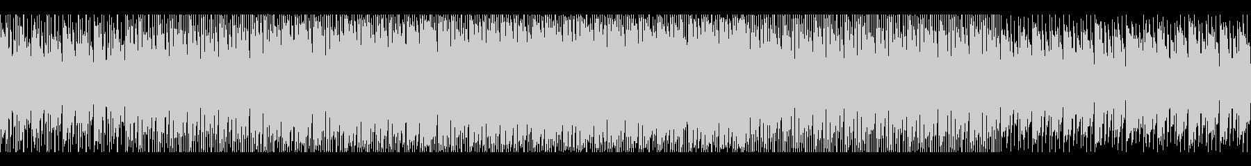 ダーク・SF・ミステリアスなヒップホップの未再生の波形