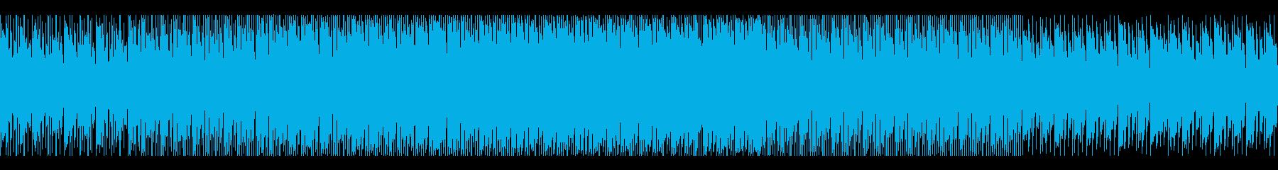 ダーク・SF・ミステリアスなヒップホップの再生済みの波形