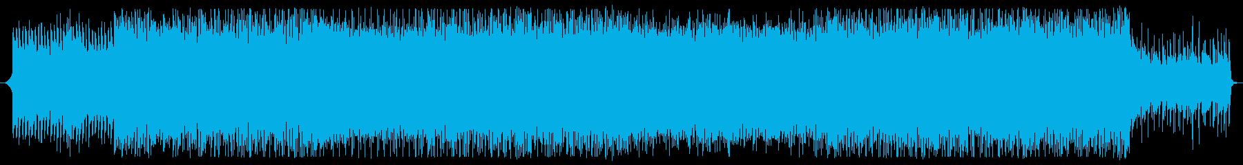 和を感じる四つ打ちポップ、EDMの再生済みの波形