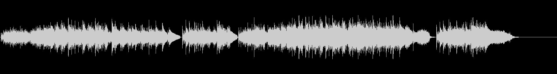 ギターデュオとストリングスによるフォークの未再生の波形