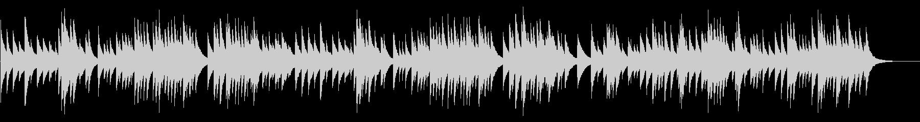 G線上のアリア 72弁オルゴールの未再生の波形