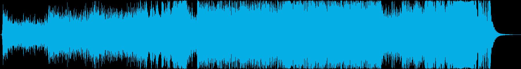 TVドラマメインテーマ曲風・アップテンポの再生済みの波形