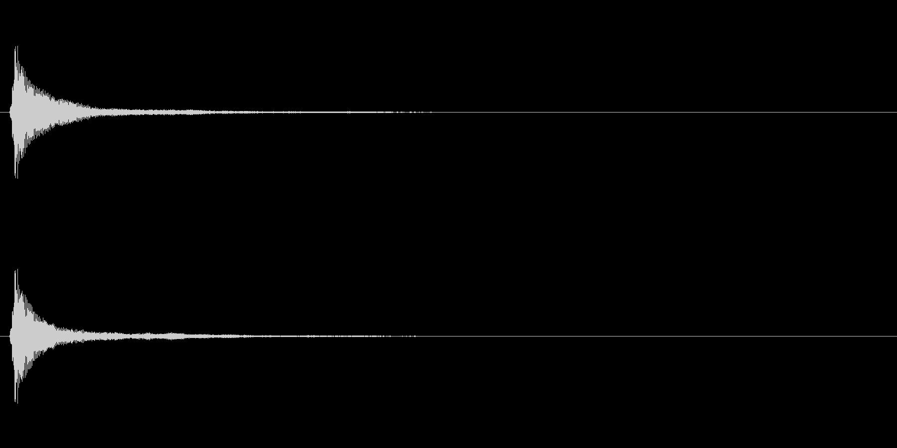 サウンドロゴ(企業ロゴ)_008の未再生の波形