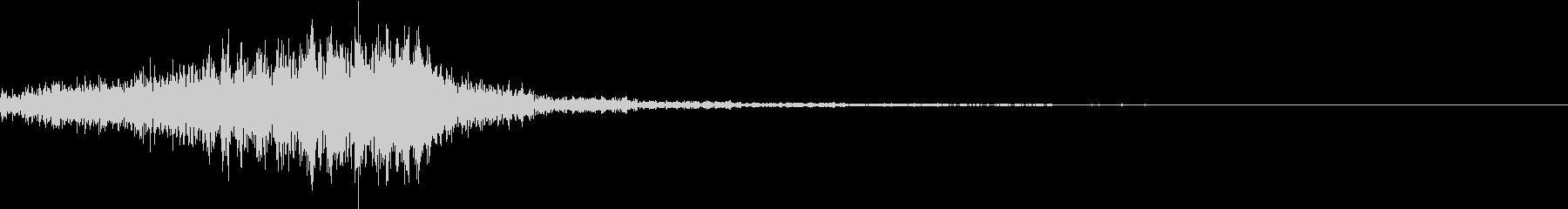 ホラー 近く 接近 恐怖 金属音 19の未再生の波形