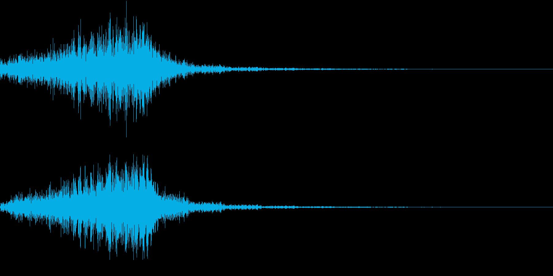 ホラー 近く 接近 恐怖 金属音 19の再生済みの波形