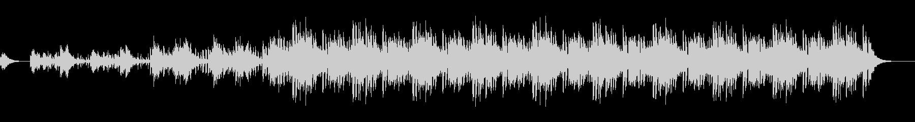 ハイテンポノービートバージョンの未再生の波形
