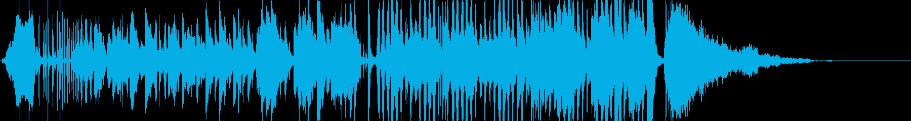 風変わりな子供の楽器。動物の音とカ...の再生済みの波形