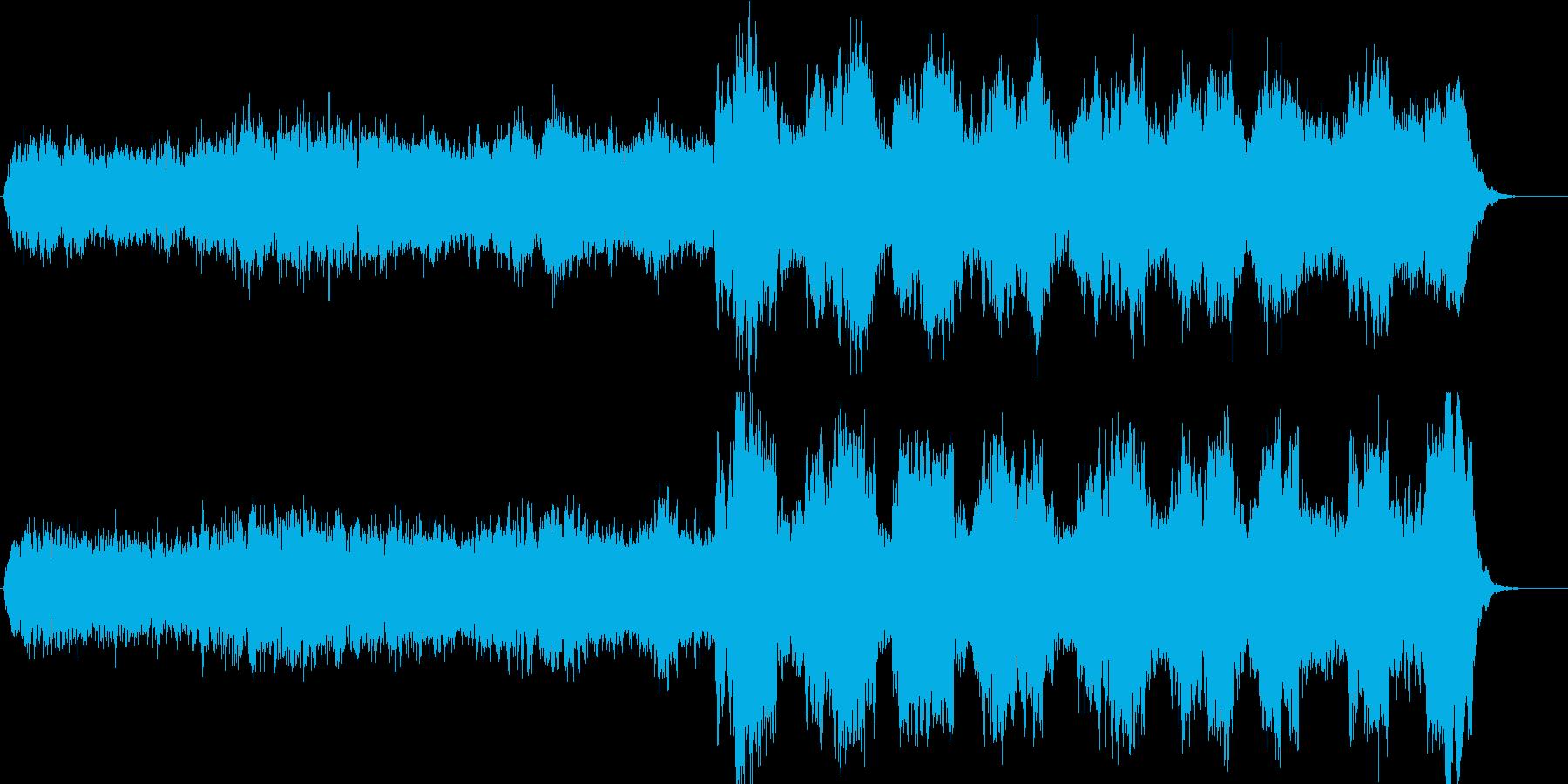 少年合唱とチェロ、清らか・神秘的・幻想的の再生済みの波形