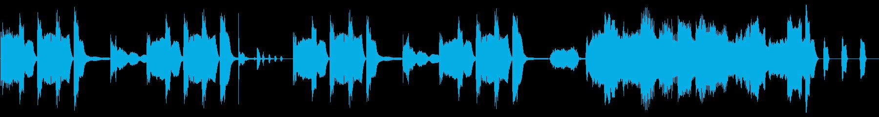 【ループ】ミスや失敗時の残念なコミカル曲の再生済みの波形