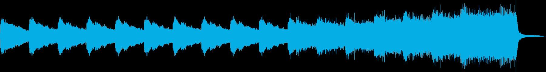 ホラー・恐怖・怖い・ドキドキの再生済みの波形