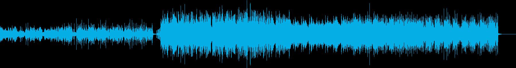ミステリアスなHiphopの再生済みの波形