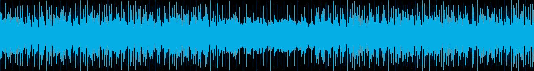 アップテンポで競争や戦いに適した曲の再生済みの波形