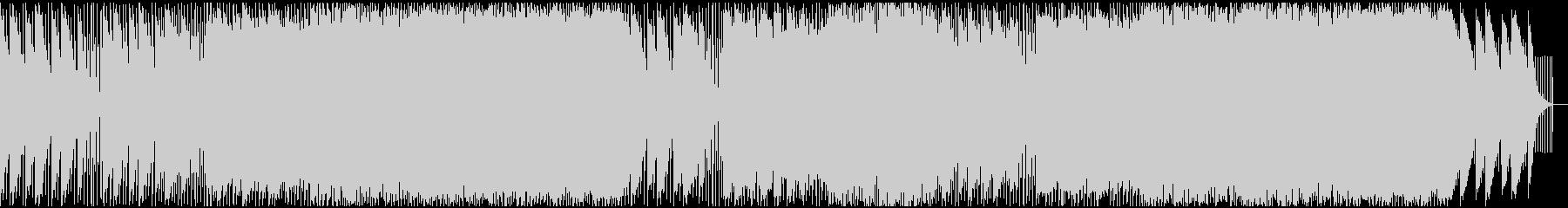 序章感のあるピアノコードが印象的なEDMの未再生の波形
