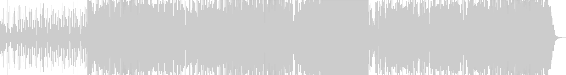 サウンドトラックブルースロック音楽。の未再生の波形