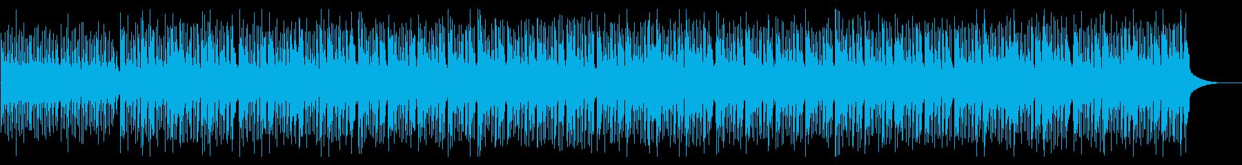 三線を使った、落ち着いたチル系の沖縄曲の再生済みの波形