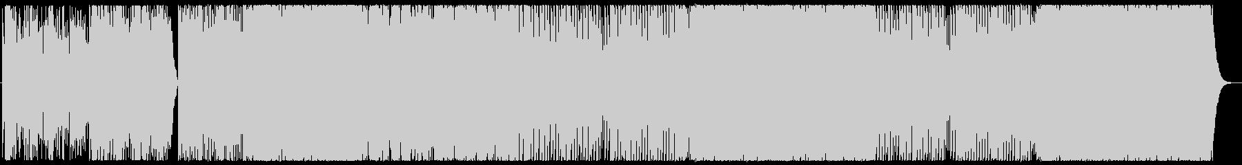 声のようなシンセが響く!王道テクノポップの未再生の波形
