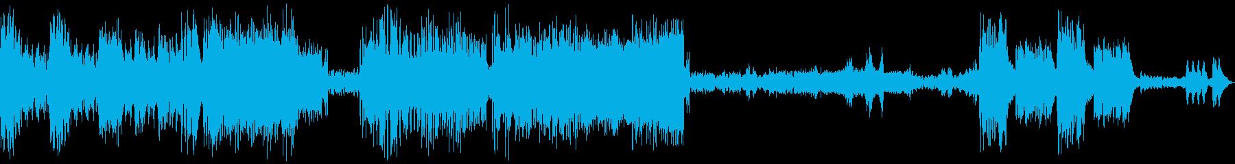 トランペットが活躍する曲です。の再生済みの波形