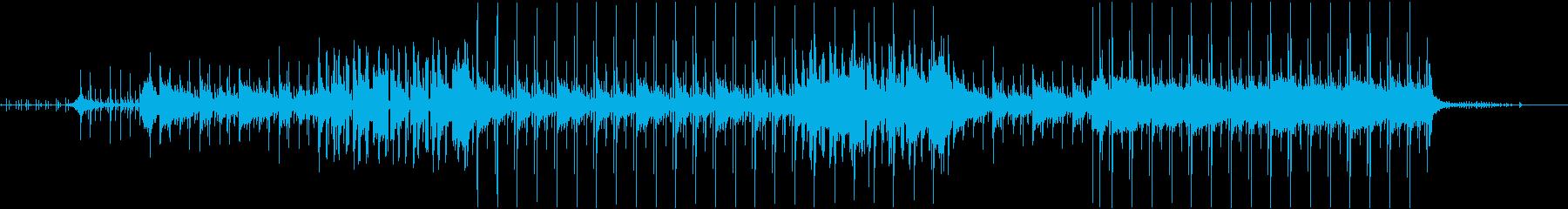 マリンバ、カリンバ、ハープ、ストリ...の再生済みの波形